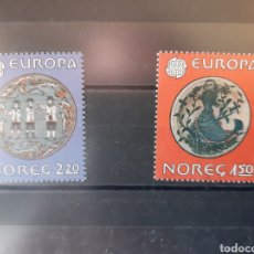 Sellos: NORUEGA 1981 EUROPA 792/93. Lote 206196236