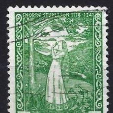 Timbres: NORUEGA 1941 - EL SUEÑO DE LA REINA RAGNHILD - SELLO USADO. Lote 213576271