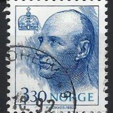 Sellos: NORUEGA 1992 - REY HARALD V - SELLO USADO. Lote 213652660