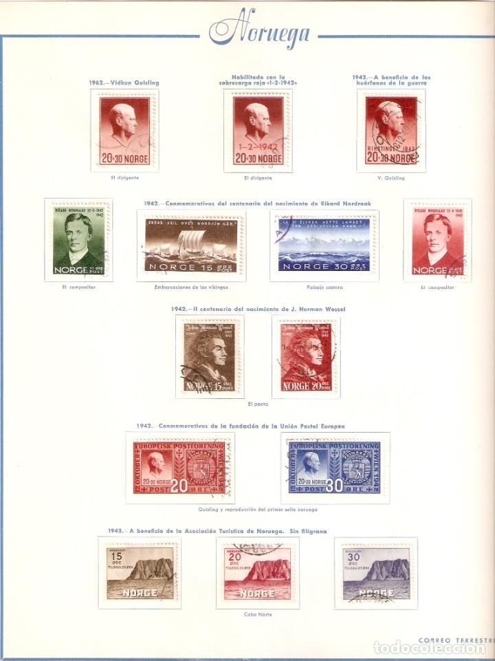 Sellos: NORUEGA. COLECCIÓN AÑOS 1855 A 1980. USADO. valor con catálogo del 2001.. 4140€ - Foto 12 - 215760703