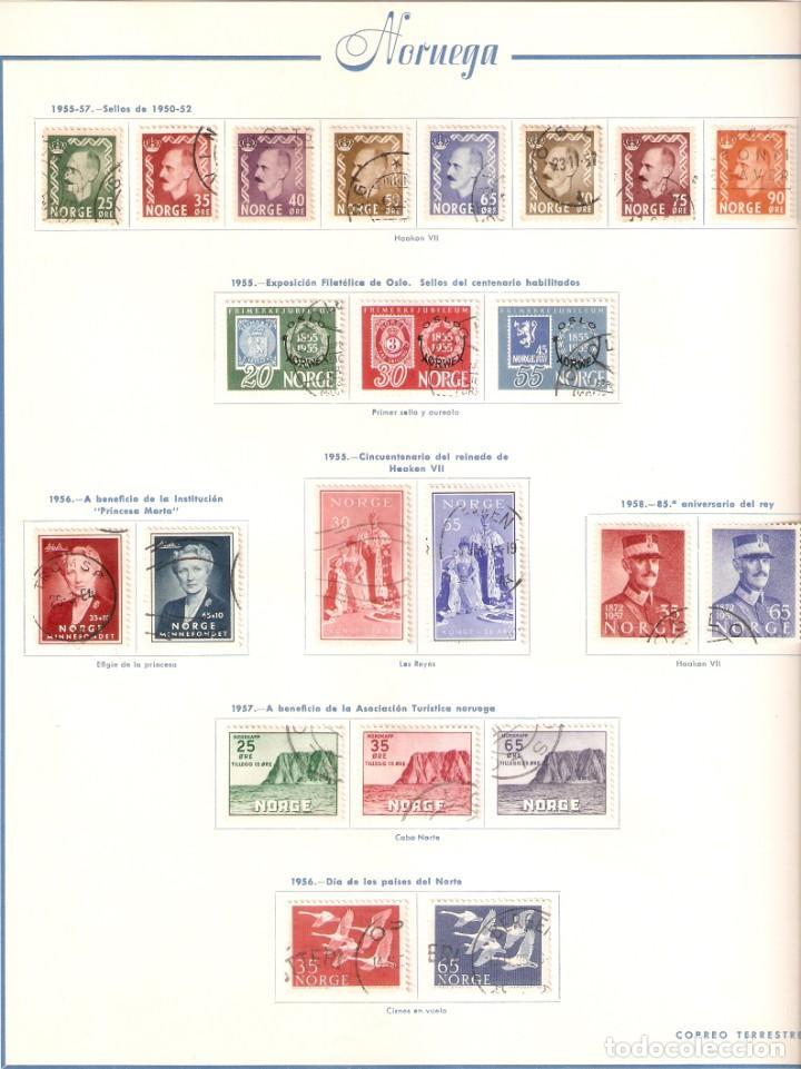 Sellos: NORUEGA. COLECCIÓN AÑOS 1855 A 1980. USADO. valor con catálogo del 2001.. 4140€ - Foto 19 - 215760703