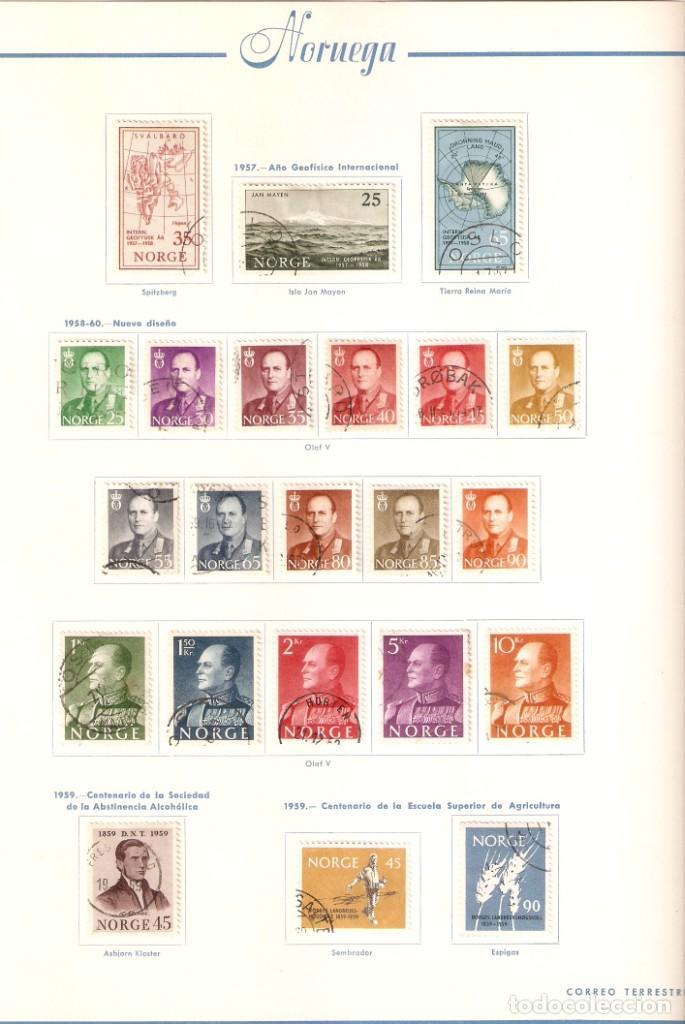 Sellos: NORUEGA. COLECCIÓN AÑOS 1855 A 1980. USADO. valor con catálogo del 2001.. 4140€ - Foto 20 - 215760703