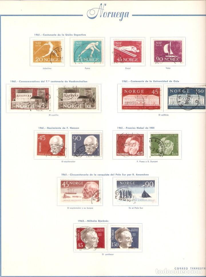 Sellos: NORUEGA. COLECCIÓN AÑOS 1855 A 1980. USADO. valor con catálogo del 2001.. 4140€ - Foto 22 - 215760703