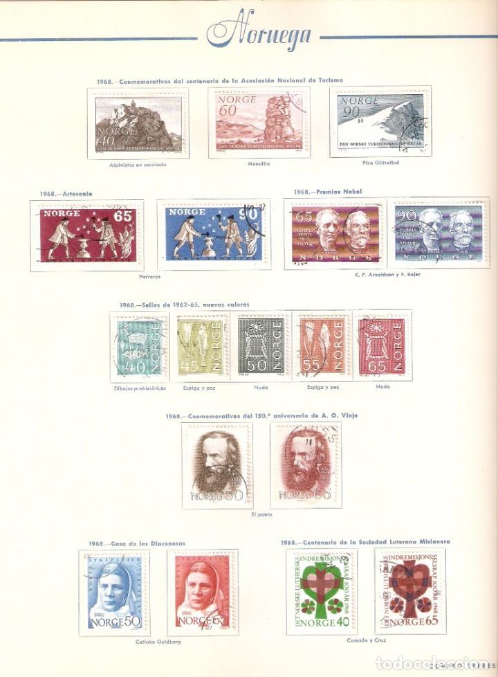 Sellos: NORUEGA. COLECCIÓN AÑOS 1855 A 1980. USADO. valor con catálogo del 2001.. 4140€ - Foto 27 - 215760703