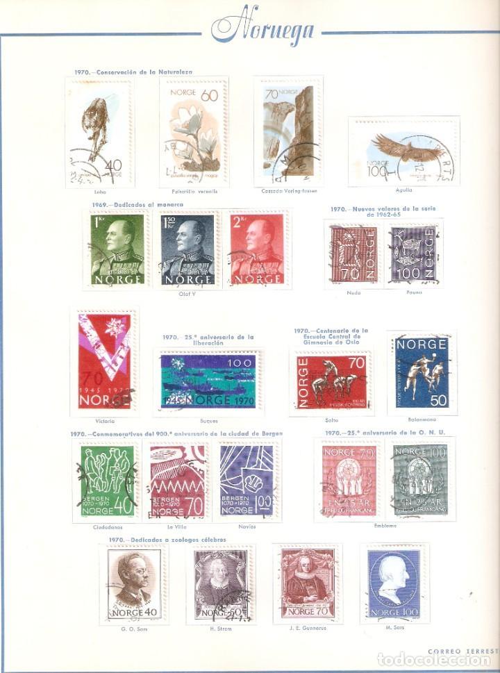 Sellos: NORUEGA. COLECCIÓN AÑOS 1855 A 1980. USADO. valor con catálogo del 2001.. 4140€ - Foto 29 - 215760703