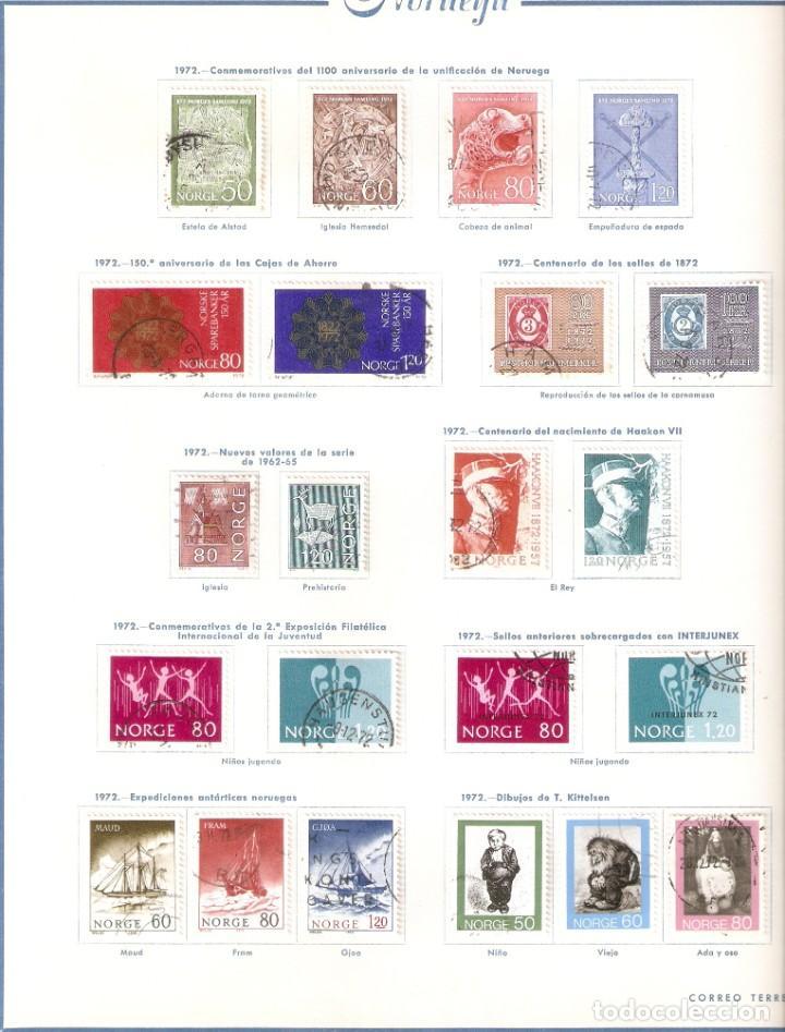 Sellos: NORUEGA. COLECCIÓN AÑOS 1855 A 1980. USADO. valor con catálogo del 2001.. 4140€ - Foto 31 - 215760703