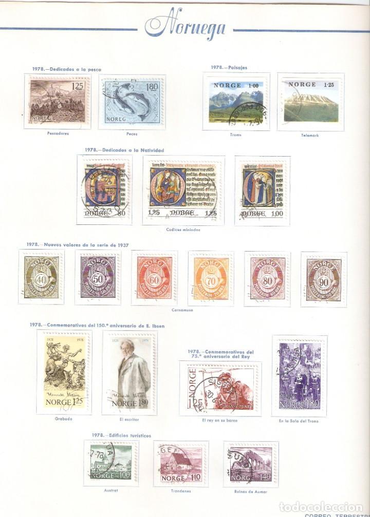 Sellos: NORUEGA. COLECCIÓN AÑOS 1855 A 1980. USADO. valor con catálogo del 2001.. 4140€ - Foto 37 - 215760703
