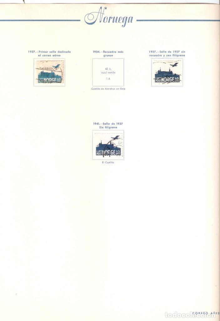 Sellos: NORUEGA. COLECCIÓN AÑOS 1855 A 1980. USADO. valor con catálogo del 2001.. 4140€ - Foto 42 - 215760703