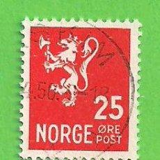 Sellos: NORUEGA - MICHEL 319 - YVERT 289 - ESCUDO DE ARMAS. (1946).. Lote 218013031