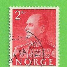 Sellos: NORUEGA - MICHEL 430Y - YVERT 553 - REY OLAV V. (1969).. Lote 218014717