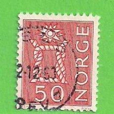 Sellos: NORUEGA - MICHEL 483 - YVERT 443 - NUDO MARINERO. (1962).. Lote 218014958