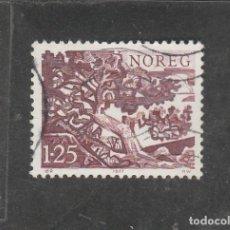 Sellos: NORUEGA 1977 - YVERT NRO. 701 - USADO-. Lote 220798753