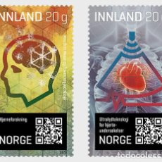 Sellos: NORWAY 2020 - RESEARCH, INNOVATION AND TECHNOLOGY STAMP SET MNH. Lote 221713413