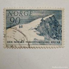Sellos: NORGE. SELLO USADO DE 90 ORE DEL AÑO 1968. ENVÍO GRATIS POR PEDIDOS DE 3€ Ó MÁS.. Lote 235548890