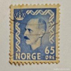 Sellos: NORGE. SELLO USADO DE 65 ORE DEL AÑO 1955. ENVÍO GRATIS POR PEDIDOS DE 3€ Ó MÁS.. Lote 235552580