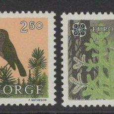 Sellos: NORUEGA 1986 IVERT 902/3 *** EUROPA - PROTECCIÓN DE LA NATURALEZA Y DEL ENTORNO. Lote 236326590
