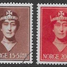 Sellos: SELLOS USADOS DE NORUEGA 1939, YT 195/ 98, FOTO ORIGINAL. Lote 238242660