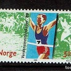 Sellos: NORUEGA DEPORTE DE NIEVE 1989. Lote 239446085