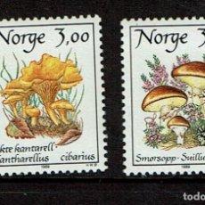 Sellos: NORUEGA SETAS 1989. Lote 239446625