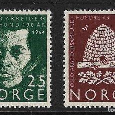 Sellos: NORUEGA. YVERT NSº 469/70 NUEVOS. Lote 240959575