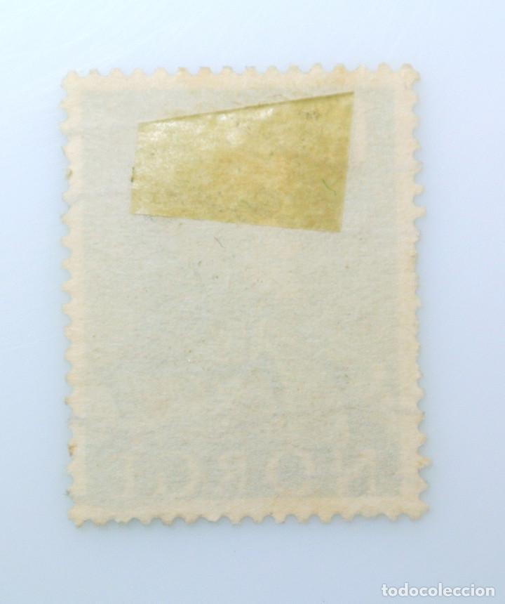 Sellos: SELLO POSTAL NORUEGA 1959 ,1 kr, REY OLAV V, USADO - Foto 2 - 243418005