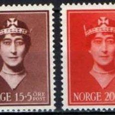 Sellos: SELLOS NUEVOS DE NORUEGA 1939, YT 195/ 98. Lote 243665540