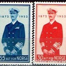 Sellos: SELLOS USADOS DE NORUEGA 1952, YT 342/ 43. Lote 243665915