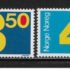 Sellos: SELLOS USADOS DE NORUEGA 1987, YT 917/ 18. Lote 243667380