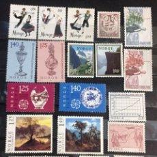 Sellos: NORUEGA, AÑO 1976 ENTERO. Lote 245820580