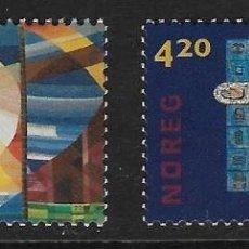 Sellos: NORUEGA. YVERT NSº 1314/15 NUEVOS. Lote 249396575