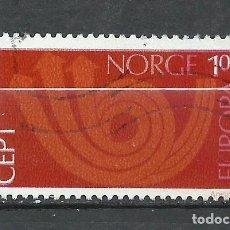 Sellos: NORUEGA - 1973 - MICHEL 660 - USADO. Lote 255972020