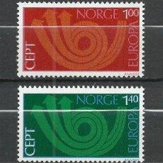 Sellos: NORUEGA - 1973 - MICHEL 660/661** MNH. Lote 255972915
