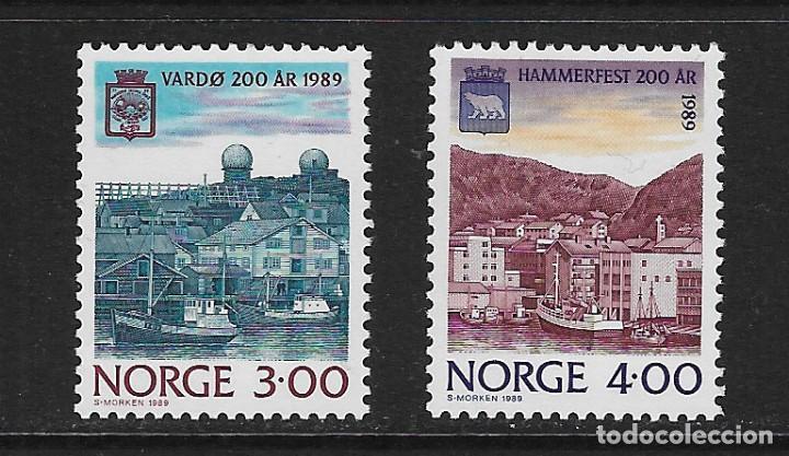 NORUEGA. YVERT NSº 972/73 NUEVOS Y DEFECTUOSOS (Sellos - Extranjero - Europa - Noruega)
