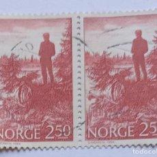 Sellos: NORUEGA,1984.PESCA DEPORTIVA.USADO. Lote 271404038