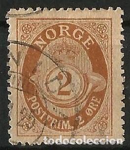 NORUEGA - 1886 - 2 POSTFRIM (Sellos - Extranjero - Europa - Noruega)