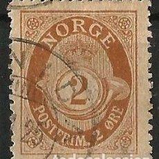 Sellos: NORUEGA - 1886 - 2 POSTFRIM. Lote 277092243