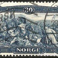 Sellos: NORUEGA - 1930 - REY OLAF - USADO. Lote 277101308