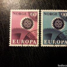 Sellos: NORUEGA YVERT 508/10 SERIE COMPLETA USADA 1967 EUROPA CEPT PEDIDO MÍNIMO 3 €. Lote 277204993