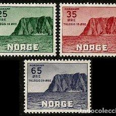 Sellos: NORUEGA 1957 CABO NORTE. Lote 287081493