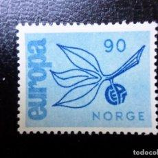 Sellos: NORUEGA, 1965, EUROPA, YVERT 487. Lote 288986208