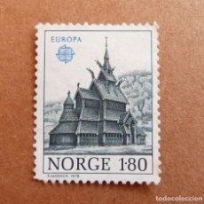 Sellos: SELLO 1.80 NORUEGA NORGE - SVERRE MORKEN 1978. Lote 291966438
