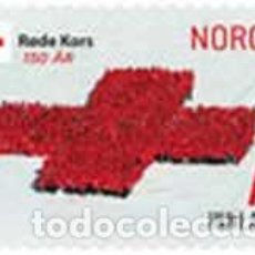 Sellos: SELLO USADO DE NORUEGA 2015, YT 1818. Lote 292567608