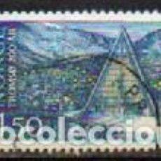 Sellos: NORUEGA IVERT Nº 1.112, BICENTENARIO DE LA FUNDACIÓN DE LA CIUDAD DETROMSØ,IGLESIA DE TROMSDALE, LA. Lote 295339023