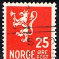 Sellos: NORUEGA // YVERT 117 // 1926-29 ... USADO. Lote 295529928