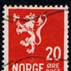 Sellos: NORUEGA // YVERT 176 // 1937-38 ... USADO. Lote 295530153