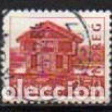 Sellos: NORUEGA IVERT Nº 832. GRANERO. BREILAND DE 1785, USADO. Lote 296637013