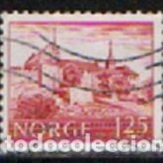Sellos: NORUEGA IVERT Nº 695, CASTILLO DE AKERSHUS, USADO. Lote 296683148