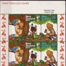 Sellos: NUEVA ZELANDA HB 41*** - AÑO 1977 - PRO OBRAS PARA LA SALUD INFANTIL. Lote 25465405