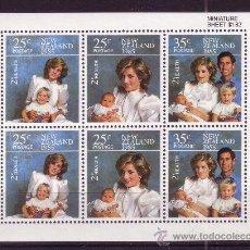 Sellos: NUEVA ZELANDA HB 52*** - AÑO 1985 - LA FAMILIA DEL PRINCIPE DE GALES. Lote 27367826