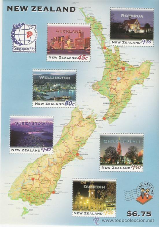 NEW ZELANDA HOJA BLOQUE Nº 103 (Sellos - Extranjero - Oceanía - Nueva Zelanda)